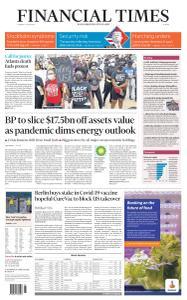 Financial Times Europe - June 16, 2020