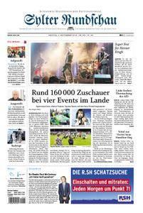 Sylter Rundschau - 03. September 2018