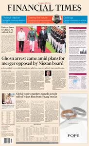 Financial Times Europe – 21 November 2018