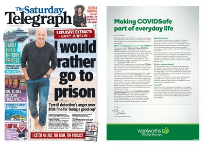 The Daily Telegraph (Sydney) – August 15, 2020