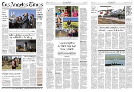 Los Angeles Times – April 23, 2021