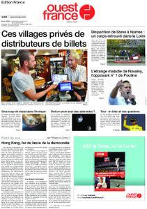 Ouest-France Édition France – 30 juillet 2019