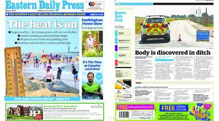 Eastern Daily Press – July 25, 2018