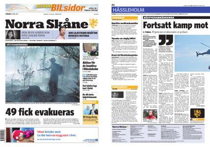 Norra Skåne – 25 april 2019