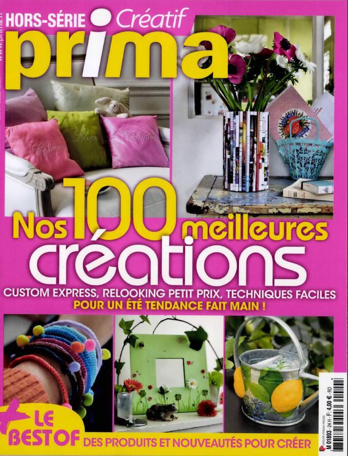 Prima Hors série Créatif N°24 - Été 2011