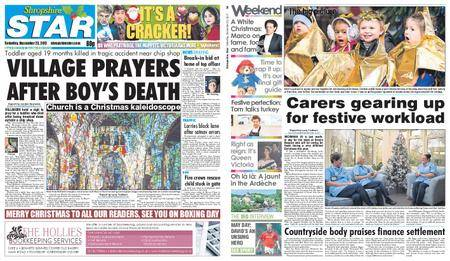 Shropshire Star Shrewsbury Edition – December 23, 2017