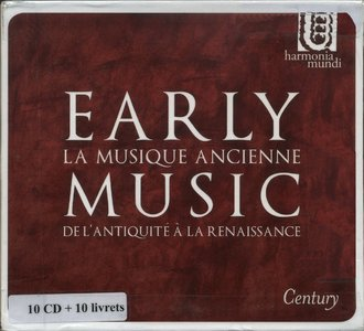 Various Artists - Early Music: From Ancient Times To The Renaissance (2010) [10CD BoxSet] {Harmonia Mundi}