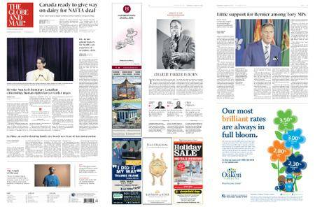 The Globe and Mail – August 29, 2018