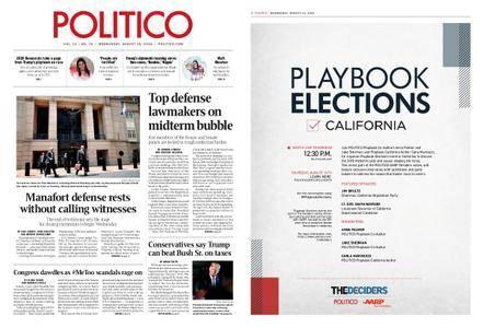 Politico – August 15, 2018
