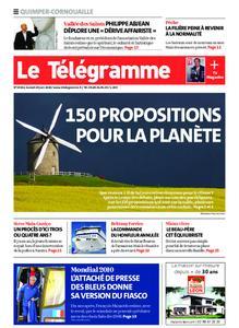Le Télégramme Ouest Cornouaille – 20 juin 2020