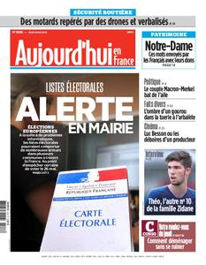 Aujourd'hui en France – 16 mai 2019