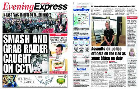Evening Express – November 13, 2017