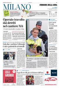 Corriere della Sera Milano – 14 gennaio 2020