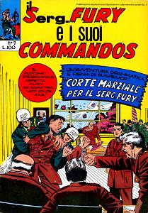Il Serg. Fury E I Suoi Commandos - Volume 7