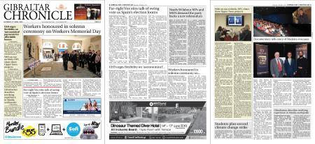 Gibraltar Chronicle – 27 April 2019