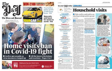 The Press and Journal Moray – September 23, 2020