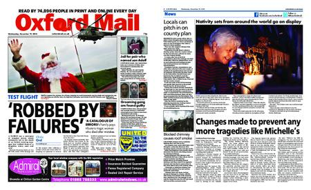 Oxford Mail – December 19, 2018