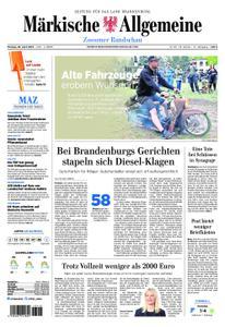 Märkische Allgemeine Zossener Rundschau - 29. April 2019
