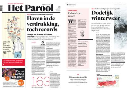 Het Parool – 11 januari 2019