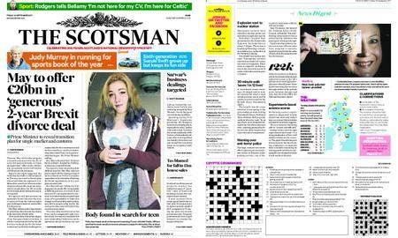 The Scotsman – September 22, 2017