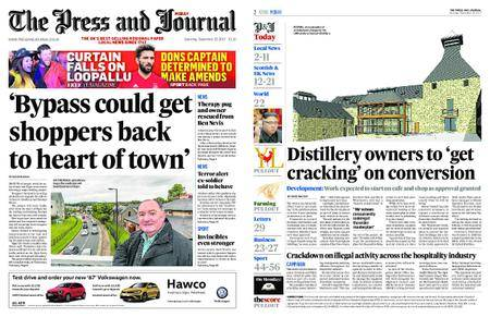 The Press and Journal Moray – September 23, 2017