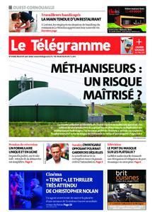 Le Télégramme Ouest Cornouaille – 25 août 2020