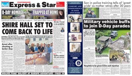 Express and Star Staffordshire Edition – May 21, 2019