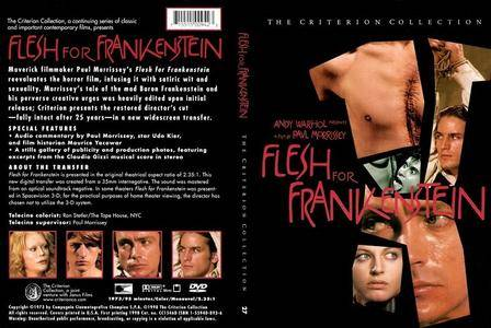 Flesh for Frankenstein (1973) [The Criterion Collection #027 - Out of Print]