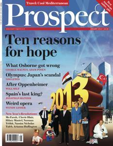 Prospect Magazine - January 2013
