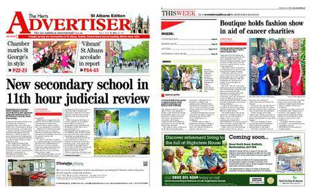 The Herts Advertiser – May 03, 2018