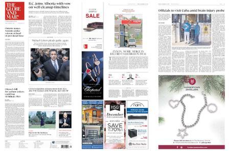 The Globe and Mail – November 30, 2018