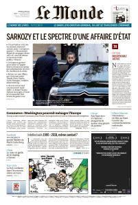 Le Monde du Vendredi 23 Mars 2018