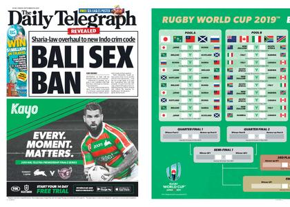 The Daily Telegraph (Sydney) – September 20, 2019