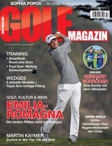 Golf Magazin - Oktober 2020