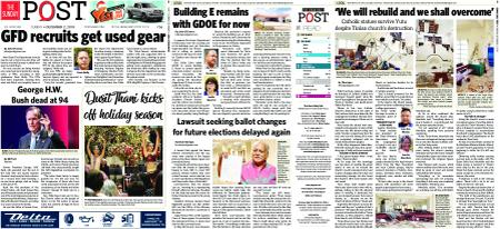 The Guam Daily Post – December 02, 2018