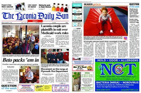 The Laconia Daily Sun – March 22, 2019
