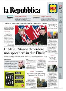 la Repubblica - 28 Febbraio 2019