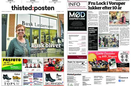 Thisted Posten – 20. november 2019