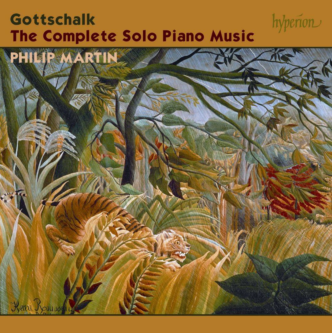 Louis Moreau Gottschalk - The Complete Solo Piano Music (2011) (Philip Martin) (8CD Box Set) {Hyperion}