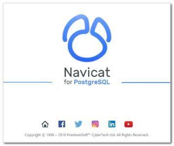 Navicat for PostgreSQL 12.1.20