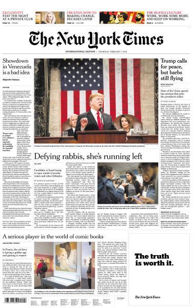 International New York Times - 7 February 2019