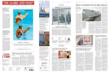 The Globe and Mail – July 16, 2019