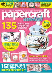 Papercraft Essentials - Issue 186 2020