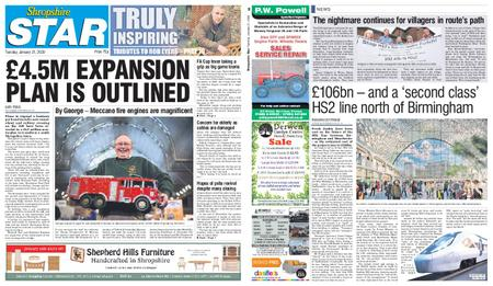 Shropshire Star Shrewsbury Edition – January 21, 2020