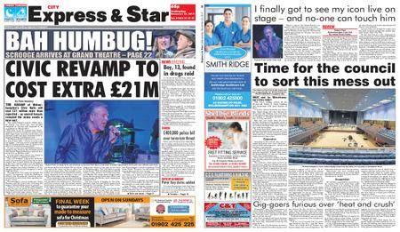 Express and Star City Edition – November 22, 2017