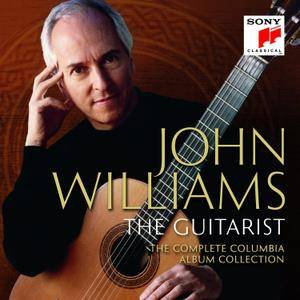 John Williams - The Guitarist (Complete Columbia Album Collection): Box Set 59CDs (2016)