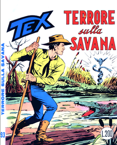 Tex N.093 - Terrore sulla savana (Araldo 1968-07)