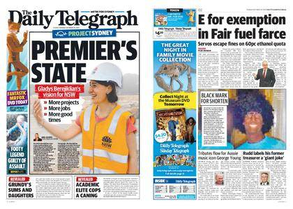 The Daily Telegraph (Sydney) – October 24, 2017