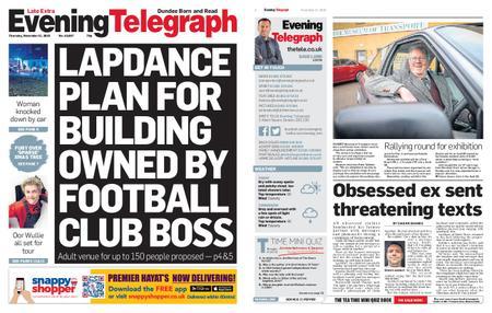 Evening Telegraph First Edition – November 21, 2019
