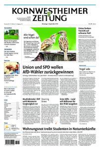 Kornwestheimer Zeitung - 03. September 2019